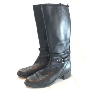 Naturalizer Wide Calf Leather Boot
